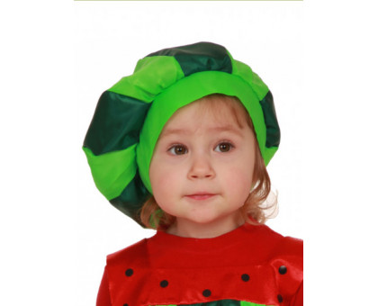 Карнавальная шапочка арбузик