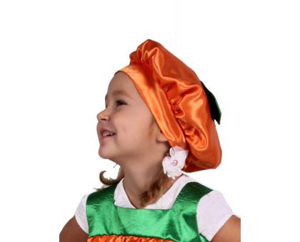Детская карнавальная шапочка тыквы