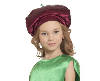 Карнавальная шапочка вишенка