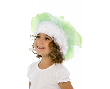 Карнавальная шапочка капуста