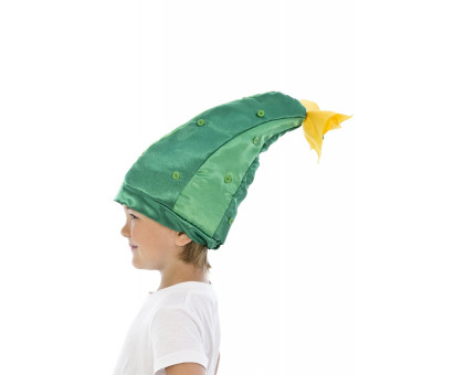Карнавальная шапочка огурец
