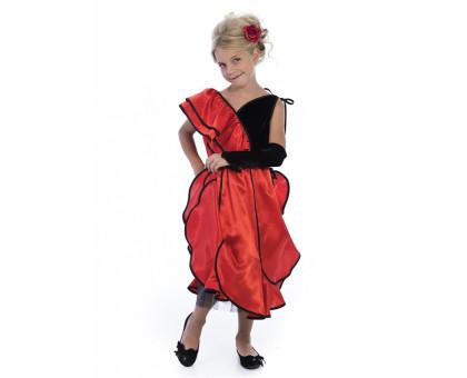 Детское испанское платье для танцев