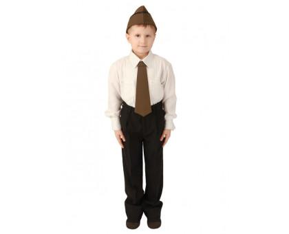 Костюм офицера детский: пилотка и галстук