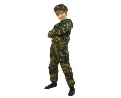 Костюм десантника детский: куртка с капюшоном, брюки и берет