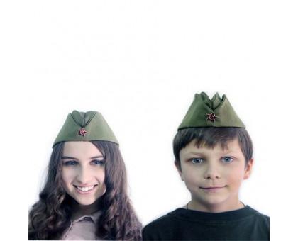 Военная пилотка детская