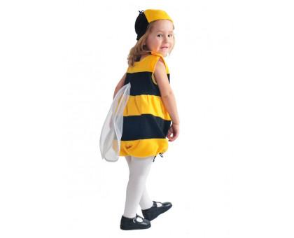 Костюм пчелы: комбинезон и шапочка