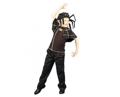Карнавальный костюм Паук: накидка и шапочка