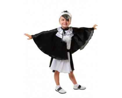 Карнавальный костюм Сорока: юбка, накидка, шапочка