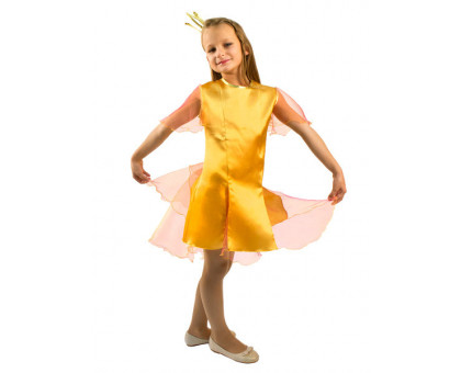Костюм Золотая рыбка: платье и корона