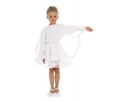 Карнавальный костюм Лебедь: юбка, кофточка и ободок
