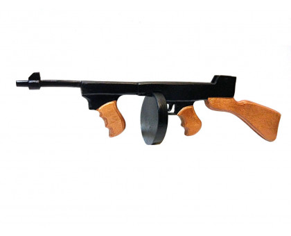 Пистолет-пулемет Томпсона детский из дерева