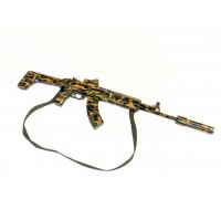 АК-12 камуфляж с прицелом