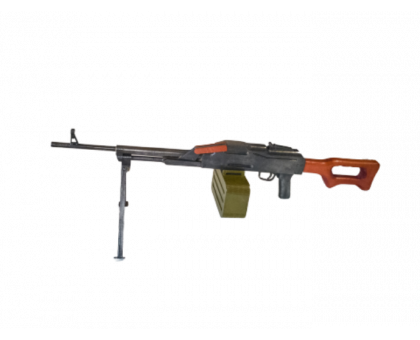 Деревянный макет пулемета Калашникова