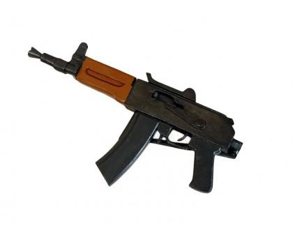 Деревянный макет укороченного автомата Калашникова АКС 74У