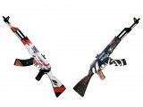 Автоматы АК-47 CS:GO