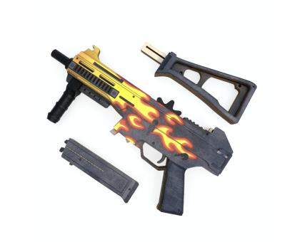 UMP 45 Пламя деревянный