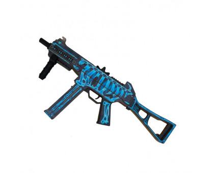 Деревянный пистолет-пулемет UMP-45 Облучение из КС ГО