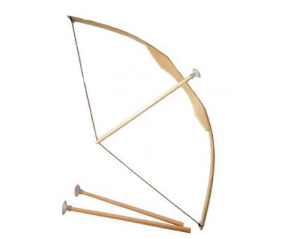Лук деревянный со стрелами