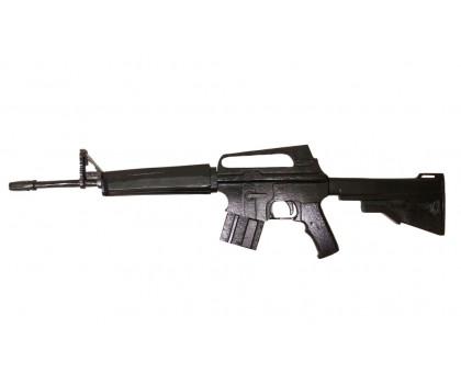 Деревянный макет винтовки М16