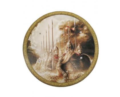 Детский круглый деревянный щит