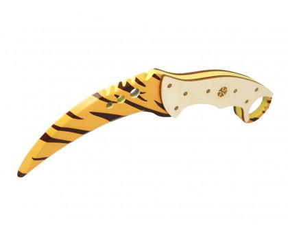 Деревянный нож Коготь Зуб тигра