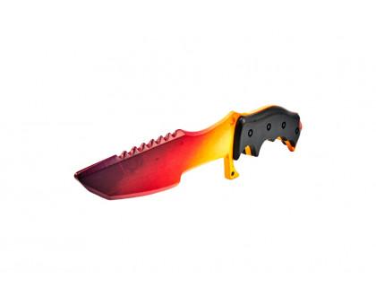 Деревянный Охотничий нож градиент КС ГО