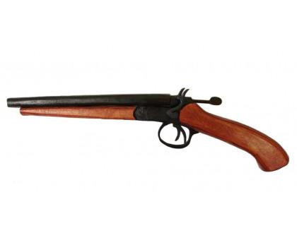 Обрез охотничьего ружья (деревянный макет)