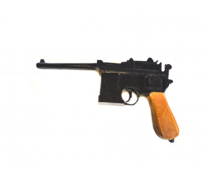 Деревянный макет пистолета Маузер