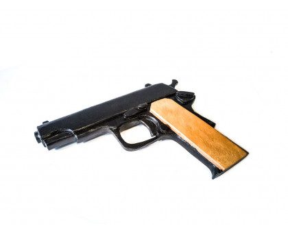 Деревянный макет пистолета ТТ