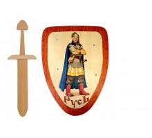 """Щит и меч """"Русь"""""""