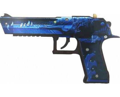 Пистолет-резинкострел из игры КС ГО Desert Eagle Ice Dragon