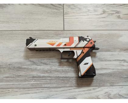 Пистолет из игры КС ГО Desert Eagle Азимов