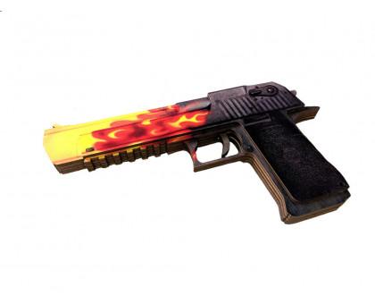 пистолет из игры КС ГО Desert Eagle Пламя