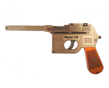 Пистолет резинкострел Маузер