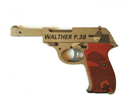 Пистолет-резинкострел Вальтер в комплекте с резинками (5 шт.)