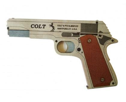 Пистолет-резинкострел Кольт в комплекте с резинками