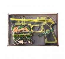 Резинкострел с мишенью