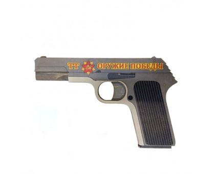 Резинкострел-пистолет ТТ с комплектом резинок