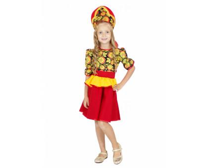 Платье Хохломской сувенир
