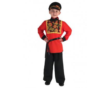 Карнавальный костюм Хохлома для мальчика