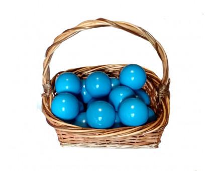 Шарики для сухого бассейна голубые