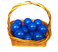 Шарики синие