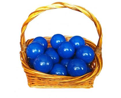 Шарики для сухого бассейна синего цвета