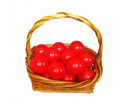 Шарики для сухого бассейна красные