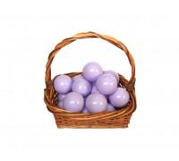 Шарики молочно-фиолетовые