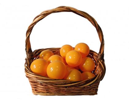 Шарики для сухого бассейна оранжевые