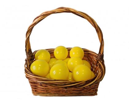 Шарики для сухого бассейна желтые