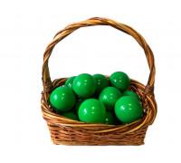 Шарики зеленые