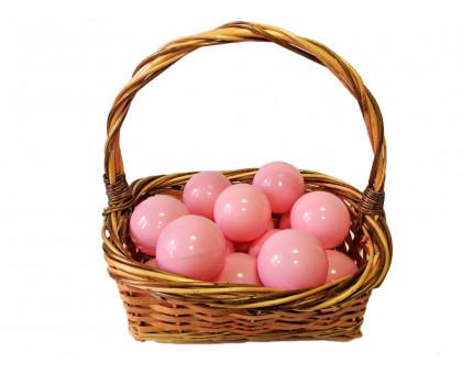 Шарики для сухого бассейна нежно-розовые