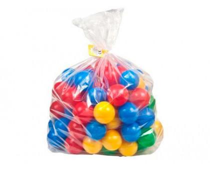 Шарики для сухого бассейна разноцветные (50 шт.)